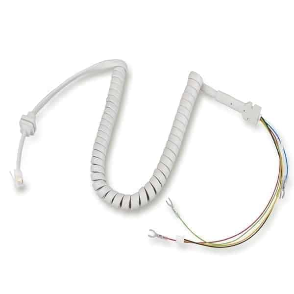 Handset spiral cable  6 CORE