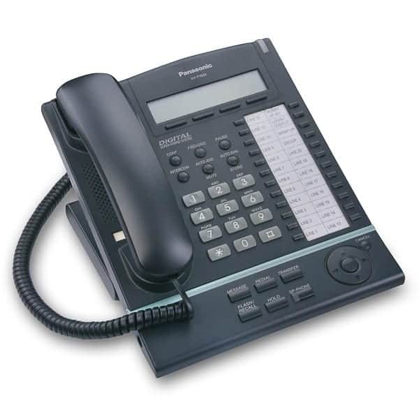 Panasonic KX-T7633 Black complete Telephone