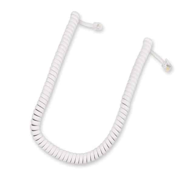 Handset Curly Cord 400mm