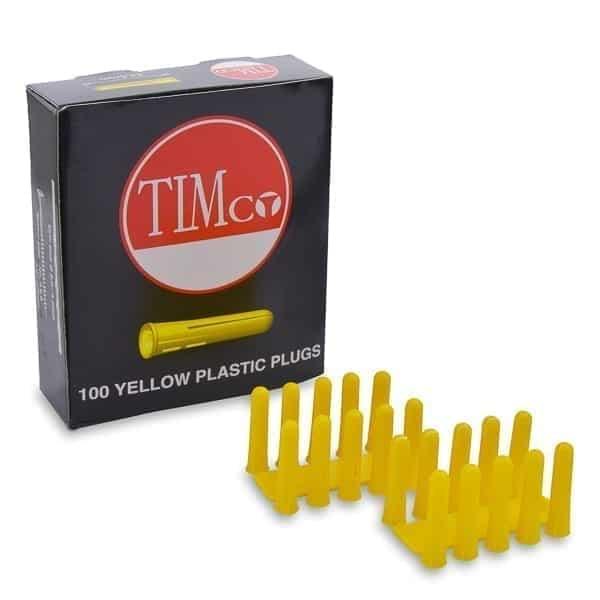 Rawl Plugs Yellow