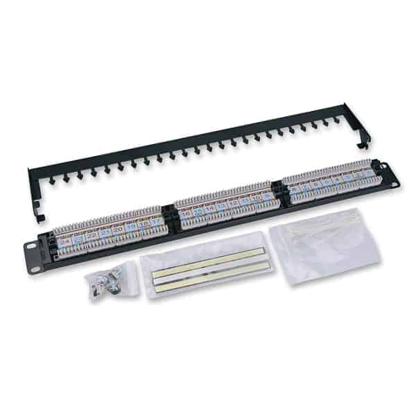Patch Panel Cat6 24port RJ45