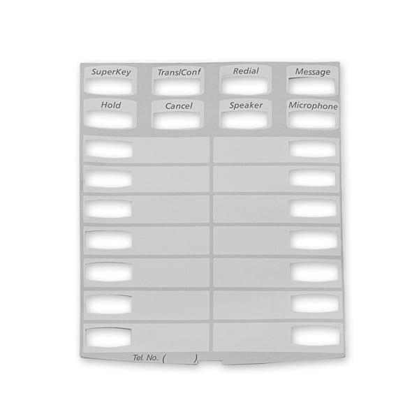 Mitel Superset 4025/5020 IP Paper Inserts